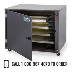 Workhorse SD-10 Screen Drying Cabinet