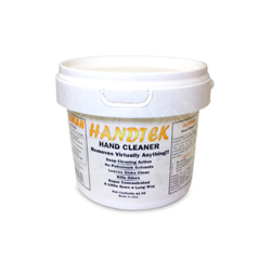 Handtek Waterless Orange Hand Cleaner - 64 oz.