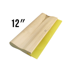 Wooden Handled 70D Squeegee - 12