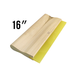 Wooden Handled 70D Squeegee - 16