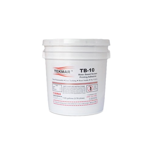 Tekmar TB-10 Water Based Pallet Adhesive - 5 Gallon