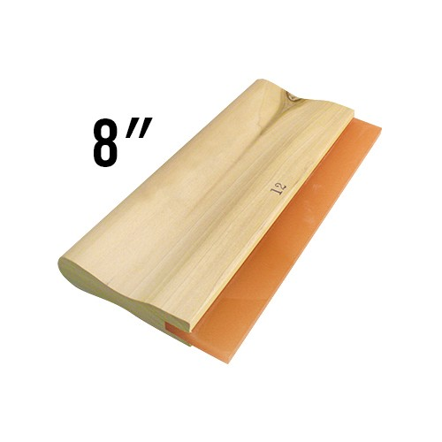 Wooden Handled 60D Squeegee - 8""